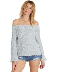 963c38f4cc90ba Lyst - Ted Baker Forget Me Not Knitted Sweater in White