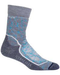 Icebreaker - Hike+ Medium Crew Sock - Lyst