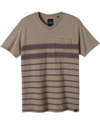 Prana - Breyson V-neck T-shirt - Lyst