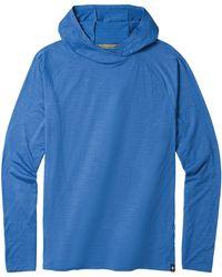 Smartwool Merino 150 Pattern Hoody - Blue