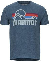 Marmot - Coastal Ss Tee - Lyst