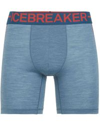 Icebreaker - Anatomica Zone Long Boxer - Lyst