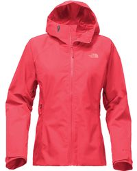 2ebd486fa The North Face Fuseform Dot Matrix Jacket in Pink - Lyst