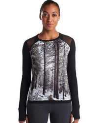 Oiselle - Sarah Attar Muscle Ls Top - Lyst