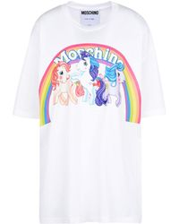 Moschino - My Little Pony Short-sleeved T-shirts - Lyst