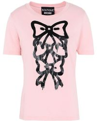 Boutique Moschino - Short Sleeve T-shirts - Lyst