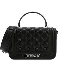 Love Moschino - Quilted Handbag With Studs - Lyst