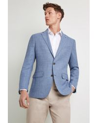 Ermenegildo Zegna - Tailored Fit Sky Open Weave Jacket - Lyst