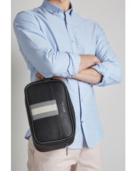 Ted Baker - Black Delset Washbag & Towel - Lyst