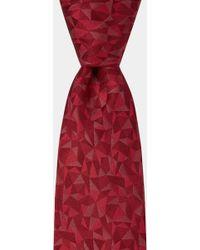 Hardy Amies - Pink Multi-triangle Geo Tie - Lyst