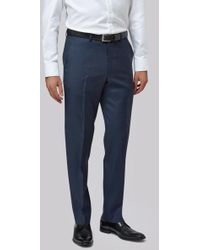 Lanificio F.lli Cerruti Dal 1881 - Cloth Tailored Fit Indigo Texture Itravel Trouser - Lyst