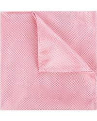 Moss Esq. - Pink Textured Natte Pocket Square - Lyst