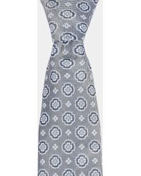Moss Esq. | Grey Medallion Tie | Lyst