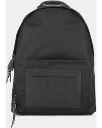 ffb4c6f8ce3c Ted Baker - Filer Black Mesh Backpack - Lyst
