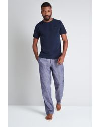 Ted Baker - Navy Pyjama Set - Lyst