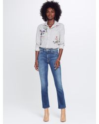 Mother Denim - The Mid Rise Dazzler Ankle Pardon My French - Lyst