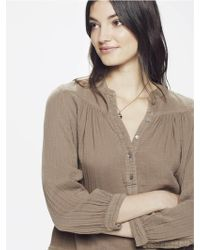 Xirena - Alyx Chelsea Gauze Shirt Olive - Lyst