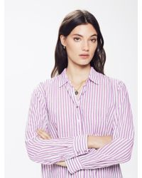 Xirena - Beau Cotton Stripe Shirt Shell - Lyst
