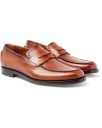 Berluti - Gianni Leather Penny Loafers - Lyst