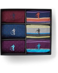 London Sock Co. - The Sartorial Six-pack Stretch Cotton-blend Socks - Lyst
