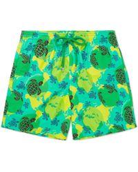 Vilebrequin - Moorea Slim-fit Mid-length Printed Swim Shorts - Lyst