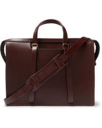 Bleu De Chauffe - Jupiter Leather Briefcase - Lyst