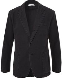 Nonnative - Black Manager Unstructured Cotton Blazer - Lyst
