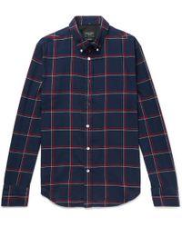 Rag & Bone - Checked Shirt - Lyst