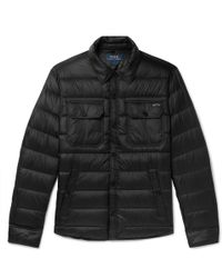 Polo Ralph Lauren - Cire Quilted Shell Down Jacket - Lyst