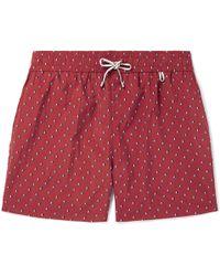 Loro Piana - Key West Mid-length Printed Swim Shorts - Lyst