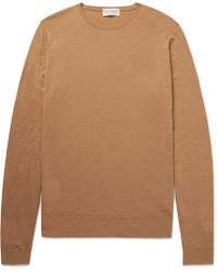 John Smedley - Lundy Slim-fit Virgin Merino Wool Sweater - Lyst