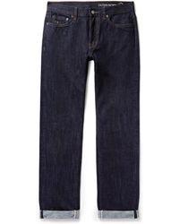 Outerknown - Ambassador Slim-fit Selvedge Denim Jeans - Lyst