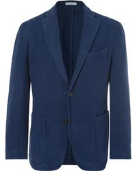 Boglioli - Navy K-jacket Cotton-moleskin Blazer - Lyst