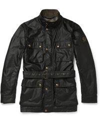 Belstaff - Roadmaster Waxed-cotton Jacket - Lyst