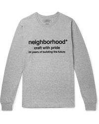 Neighborhood - Long Sleeve Future Tee - Lyst