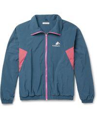 Flagstuff - Colour-block Shell Track Jacket - Lyst