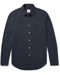 Rag & Bone - Standard Issue Beach Cotton Shirt - Lyst