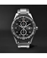 Tag Heuer - Connected Modular 45mm Titanium And Ceramic Smart Watch - Lyst