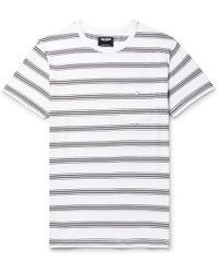 Todd Snyder - Striped Cotton-jersey T-shirt - Lyst