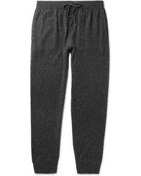 Derek Rose - Finley Tapered Cashmere Joggers - Lyst