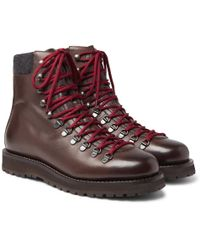 Brunello Cucinelli - Leather Boots - Lyst