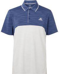 adidas Originals - 365 Mélange Jersey Golf Polo Shirt - Lyst