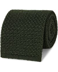 Berluti - 6.5cm Knitted Silk Tie - Lyst