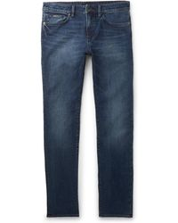 BOSS - Delaware Slim-fit Stretch-denim Jeans - Lyst