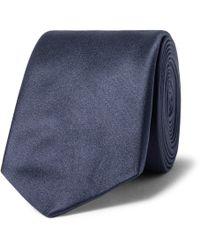 Lanvin - 6cm Silk-satin Tie - Lyst