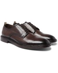 Officine Creative - Cornell Leather Derby Shoes - Lyst