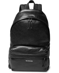 Balenciaga - Explorer Grained Leather Backpack - Lyst