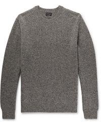 Club Monaco - Mélange Merino Wool Sweater - Lyst