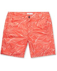 Onia - Orange Calder Swim Shorts - Lyst