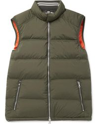 Orlebar Brown - Aidey Quilted Stretch-nylon Down Gilet - Lyst